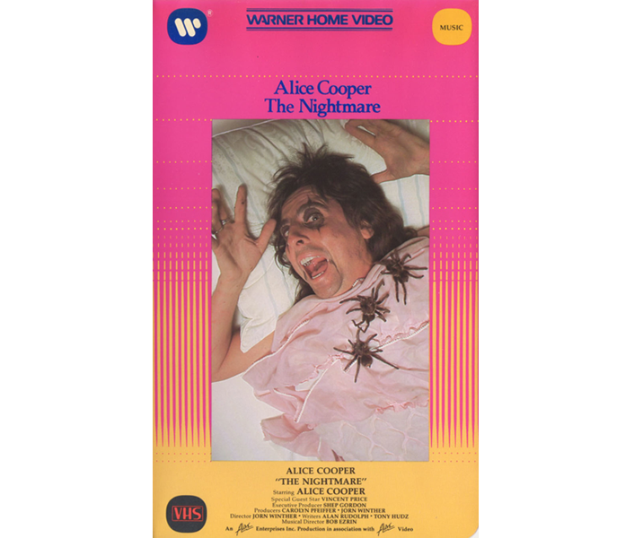 1975 The Nightmare VHS