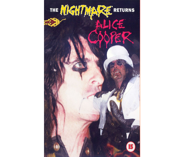 2006 The Nightmare Returns DVD
