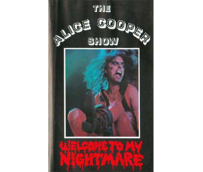 1975 Welcome To My Nightmare VHS/DVD